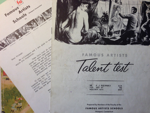 Famous Artists Packet